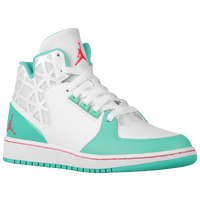 Jordan 1 Flight 3 - Girls' Grade School - White / Red