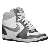 Nike Force Sky High - Women's - White / Grey