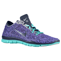 Nike Free 5.0 TR Fit 4 - Women's - Purple / Navy