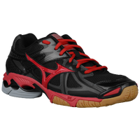 Mizuno Wave Bolt 4 - Women's - Black / Red