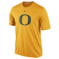 Nike College Dri-Fit Logo Legend T-Shirt - Men's - Oregon Ducks - Yellow / Dark Green