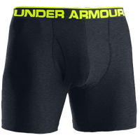 "Under Armour The Original 6"" Boxer Jock - Men's - Grey / Light Green"