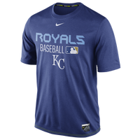 Nike MLB AC Dri-Fit Team Issue T-Shirt - Men's - Kansas City Royals - Blue / White