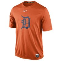Nike MLB AC Dri-FIT Legend Logo T-Shirt - Men's - Detroit Tigers - Orange / Navy