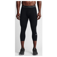 Nike Pro Hypercool Compression 3/4 Tights - Men's - Black / Grey