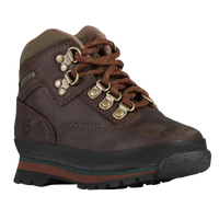 Timberland Euro Hiker - Boys' Toddler - Brown / Gold