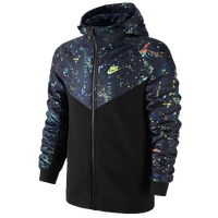 Nike Windrunner Jacket - Men's - Black / Navy