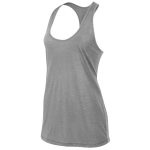 Nike Flow Tank - Women's - Dark Grey/Medium Grey Heather