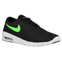 Nike SB Koston 2 Max - Men's - Black / Light Green