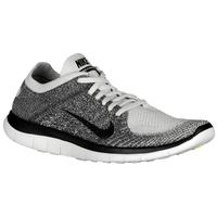 Nike Free 4.0 Flyknit - Men's - Grey / Black