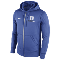 Nike College Sideline KO Full-Zip Hoodie - Men's - Duke Blue Devils - Blue / White
