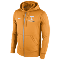 Nike College Sideline KO Full-Zip Hoodie - Men's - Tennessee Volunteers - Orange / White
