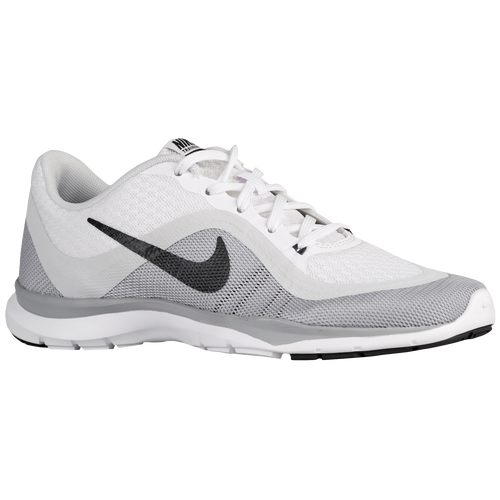 nike flex trainer 6 women 39 s training shoes white. Black Bedroom Furniture Sets. Home Design Ideas