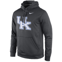 Nike College Performance Practice Hoodie - Men's - Kentucky Wildcats - Grey / White