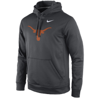 Nike College Performance Practice Hoodie - Men's - Texas Longhorns - Grey / Orange