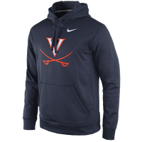 Nike College Performance Practice Hoodie - Men's - Virginia Cavaliers - Navy / Orange
