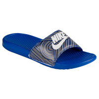 Nike Benassi JDI Slide - Men's - Blue / White