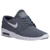 Nike SB Stefan Janoski Max - Men's - Grey / White