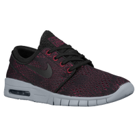 Nike SB Stefan Janoski Max - Men's - Black / Red