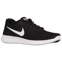 Nike Free RN - Women's - Black / White
