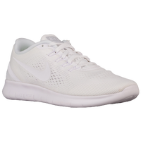 Nike Free RN - Women's - All White / White