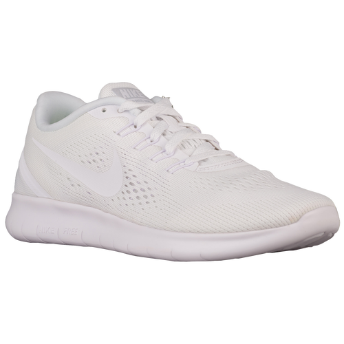 Nike Free RN - Women's - Running - Shoes - White/White