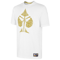 Nike Kobe Sheath Spade T-Shirt - Men's -  Kobe Bryant - White / Gold