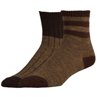 Timberland Basic Marled 2 Pack Crew Socks - Boys' Grade School - Tan / Brown