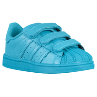 adidas Originals Superstar - Boys' Toddler - Light Blue / Light Blue
