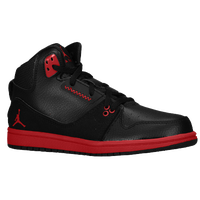 Jordan 1 Flight 2 - Boys' Preschool - Black / Red