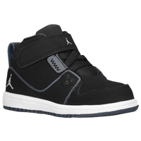 Jordan 1 Flight 2 - Boys' Toddler - Black / Grey