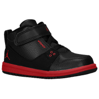 Jordan 1 Flight 2 - Boys' Toddler - Black / Red