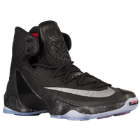 Nike LeBron 13 Elite - Men's -  LeBron James - Black / Grey
