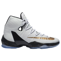 Nike LeBron 13 Elite - Men's -  LeBron James - White / Gold