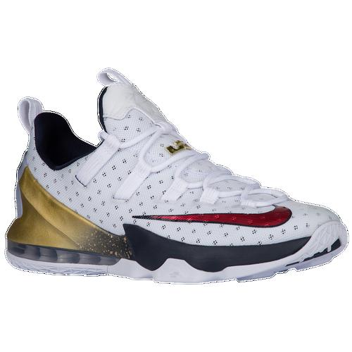 Nike LeBron XIII Low - Men\u0026#39;s - LeBron James - White / Navy
