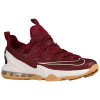 Nike LeBron XIII Low - Men's -  LeBron James - Red / Off-White