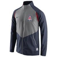 Nike College Dri-Fit On Court Game Jacket - Men's - Arizona Wildcats - Navy / Grey