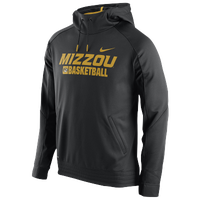 Nike College Basketball Pullover Hoodie - Men's - Missouri Tigers - Black / Gold