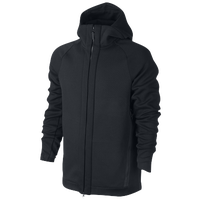 b9851031a0f0 Nike Tech Fleece Full Zip Hoodie - Men s - All Black   Black