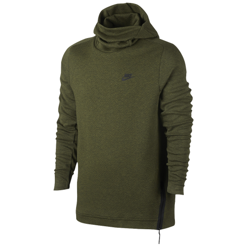 nike tech fleece pull over hoodie men 39 s casual clothing legion green. Black Bedroom Furniture Sets. Home Design Ideas
