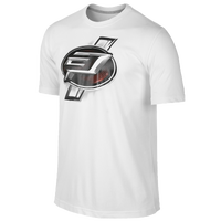 Jordan CP3 Emblem T-Shirt - Men's -  Chris Paul - White / Red