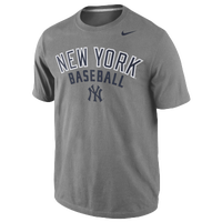 Nike MLB Practice T-Shirt - Men's - New York Yankees - Grey / Navy