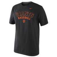 Nike MLB Practice T-Shirt - Men's - Black / Orange