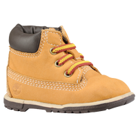 "Timberland 6"" Crib Bootie - Boys' Infant - Tan / Brown"