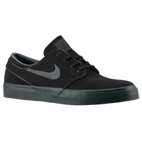 Nike SB Zoom Stefan Janoski - Men's - Black / Grey