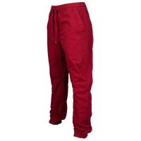 Southpole Twill Cuffed Jogger - Men's - Red / Red