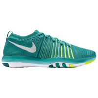 low priced 78cb7 714a8 Nike Free Transform Flyknit - Women s - Green   Light Green