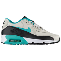 Nike Air Max 90  - Boys' Grade School - Off-White / Aqua