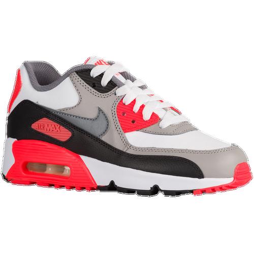 lwgpe Nike Air Max 90 - Boys\' Grade School - Running - Shoes - White