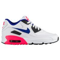 Nike Air Max 90  - Boys' Grade School - White / Blue